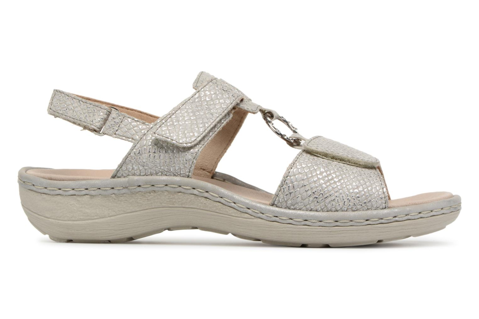 Sandals Remonte Maci D7648 Grey back view