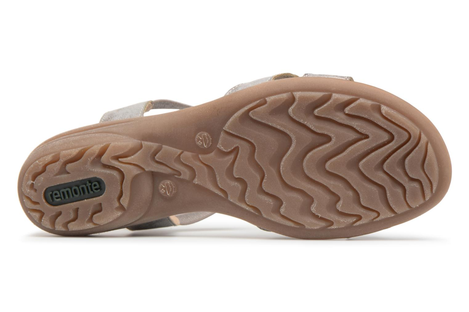 Sandals Remonte Velma R3638 Grey view from above