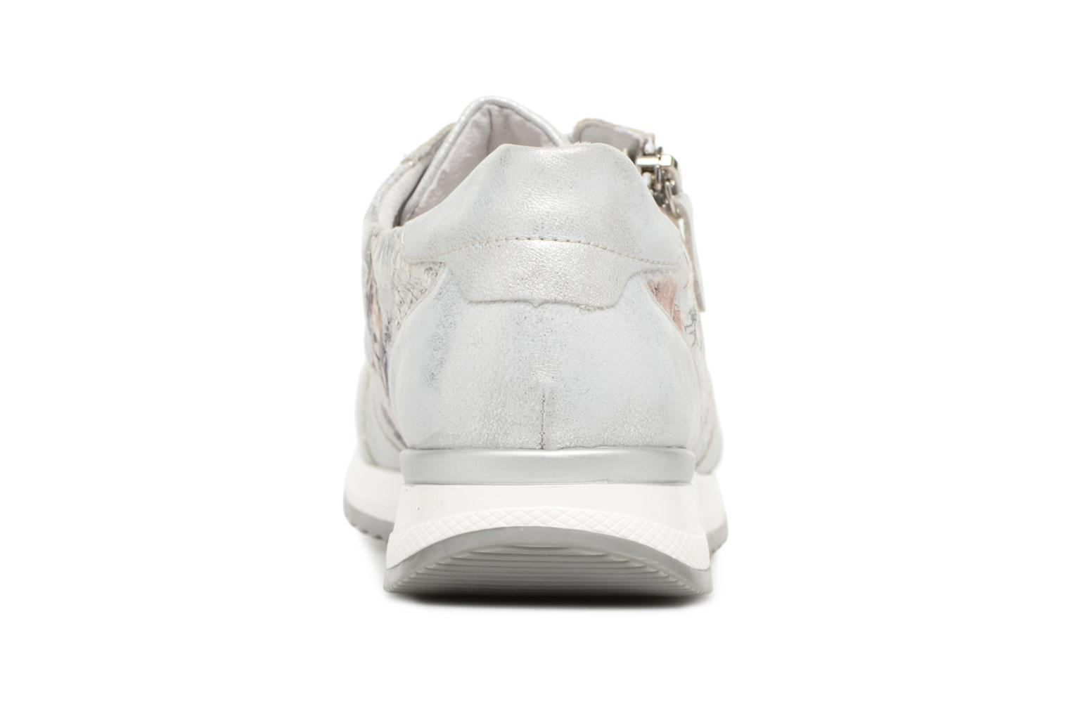 Trainers Remonte Aldora R7010 Silver view from the right