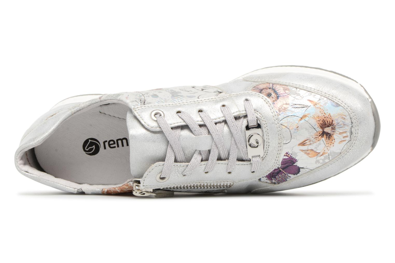 Trainers Remonte Aldora R7010 Silver view from the left