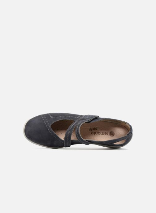 Ballet pumps Remonte Haesel R7615 Blue view from the left