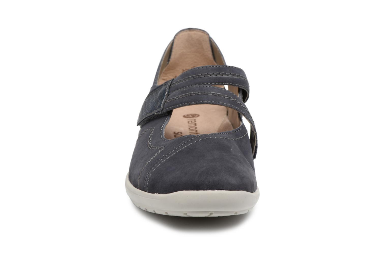 Ballerines Remonte Haesel R7615 Bleu vue portées chaussures