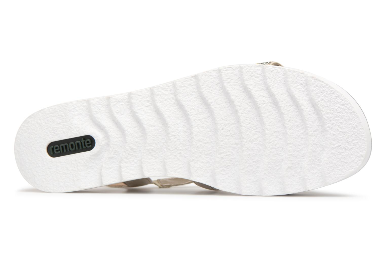 Sandales et nu-pieds Remonte Drew D1164 Beige vue haut