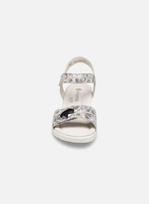 Sandales et nu-pieds Remonte Cadee D3464 Gris vue portées chaussures
