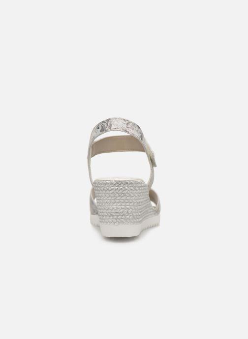 Sandales et nu-pieds Remonte Cadee D3464 Gris vue droite