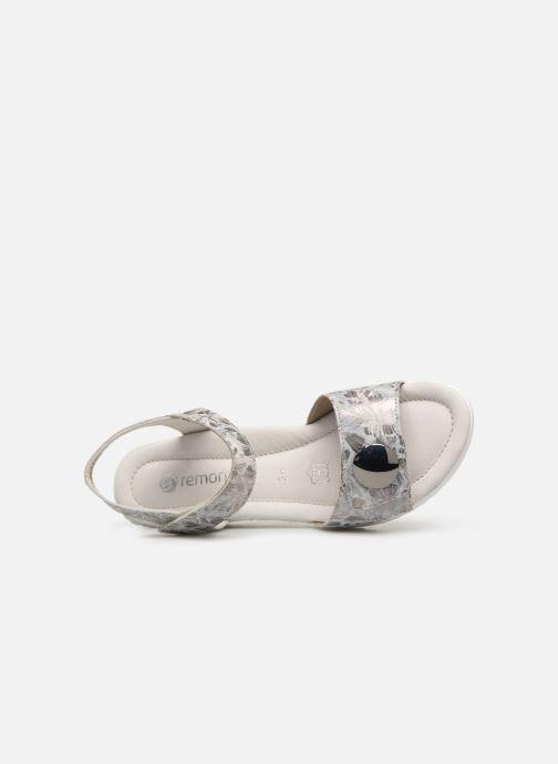 Sandales et nu-pieds Remonte Cadee D3464 Gris vue gauche