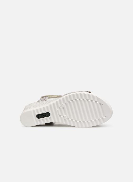 Sandales et nu-pieds Remonte Cadee D3464 Gris vue haut