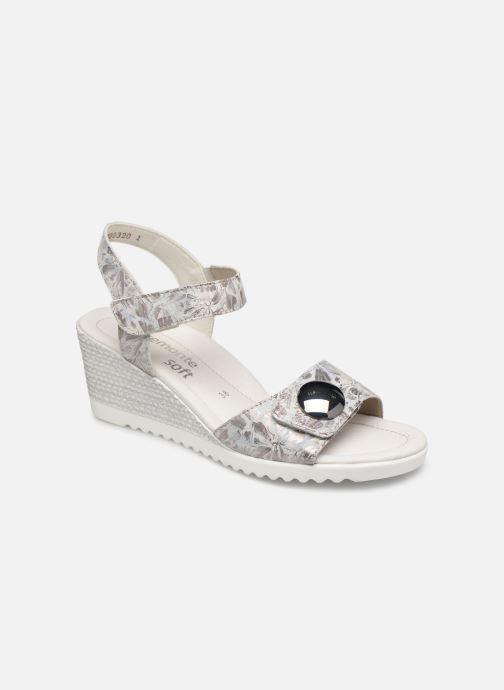 Sandales et nu-pieds Remonte Cadee D3464 Gris vue détail/paire