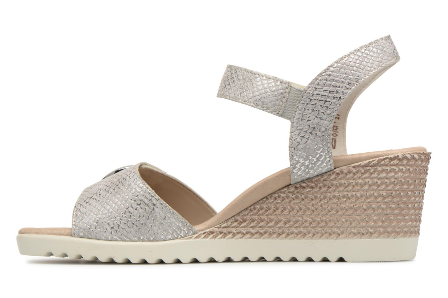 Sandals Remonte Cadee D3464 Grey front view