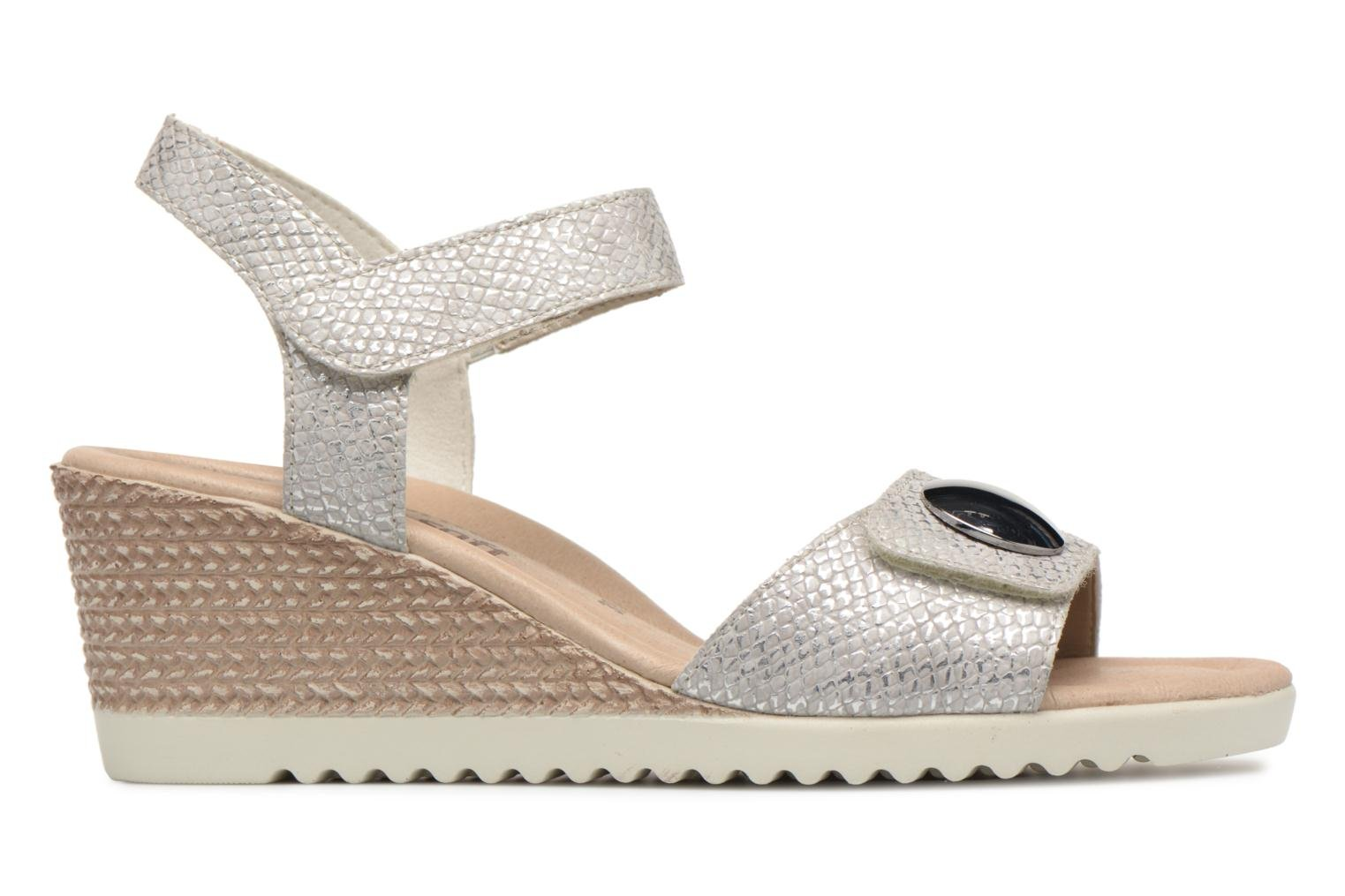 Sandals Remonte Cadee D3464 Grey back view