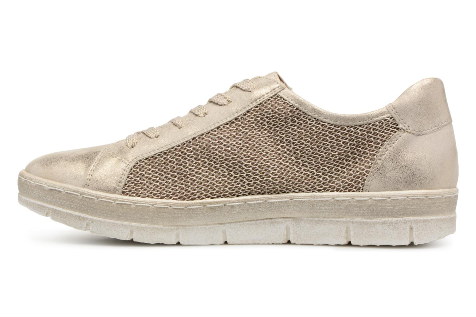 Trainers Remonte Fae D5804 Bronze and Gold front view