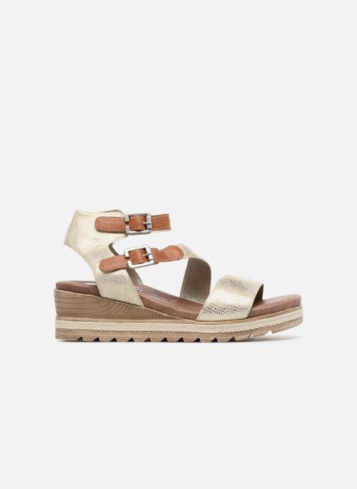 Sandales et nu-pieds Remonte Idal D6351 Beige vue derrière