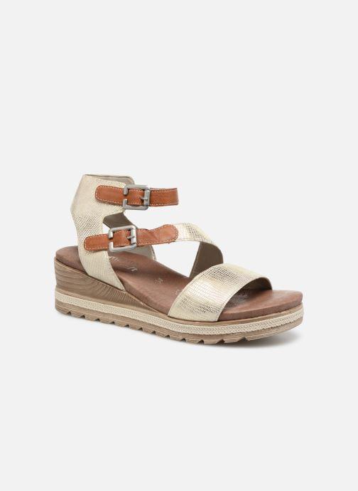 Sandales et nu-pieds Remonte Idal D6351 Beige vue détail/paire