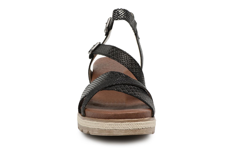 Sandales et nu-pieds Remonte Jada D6356 Noir vue portées chaussures