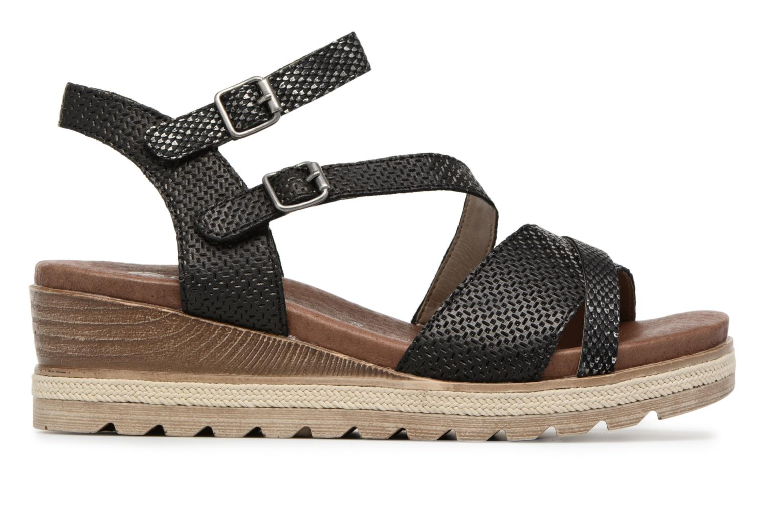 Sandals Remonte Jada D6356 Black back view