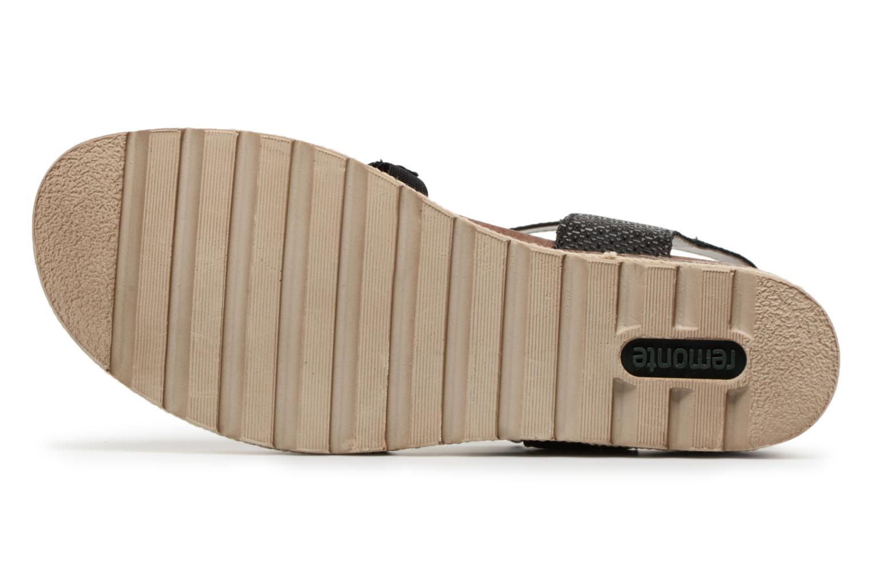 Sandales et nu-pieds Remonte Jada D6356 Noir vue haut