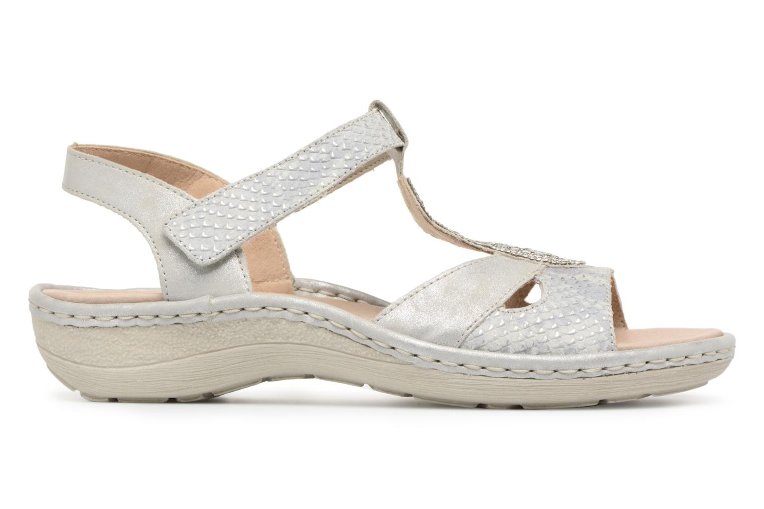 Sandals Remonte Lacee D7645 Grey back view