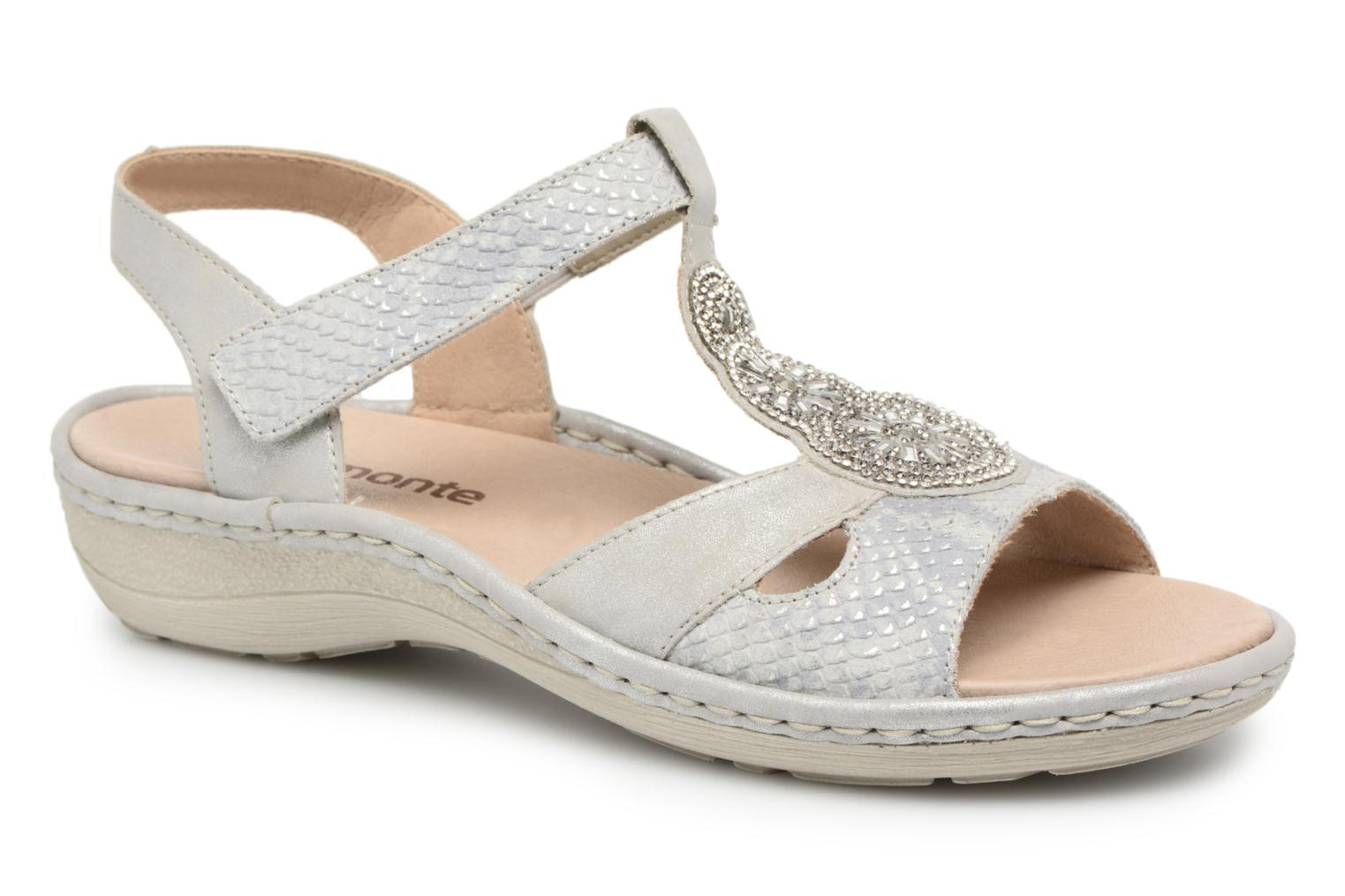 Sandals Remonte Lacee D7645 Grey detailed view/ Pair view