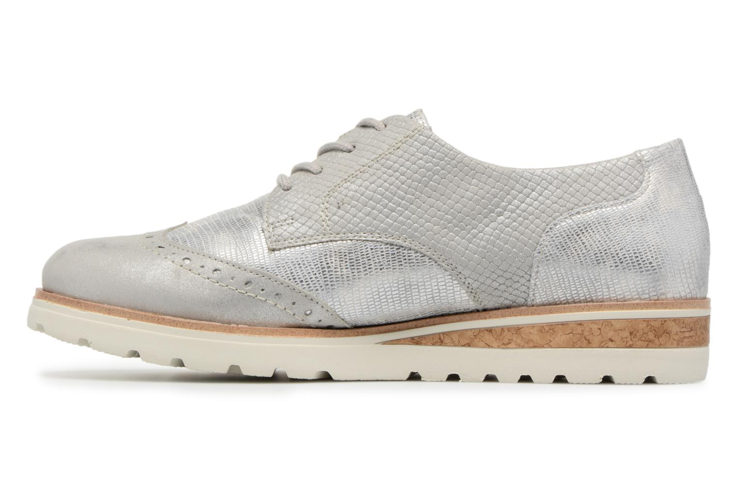 Lace-up shoes Remonte Nearra R1912 Grey front view
