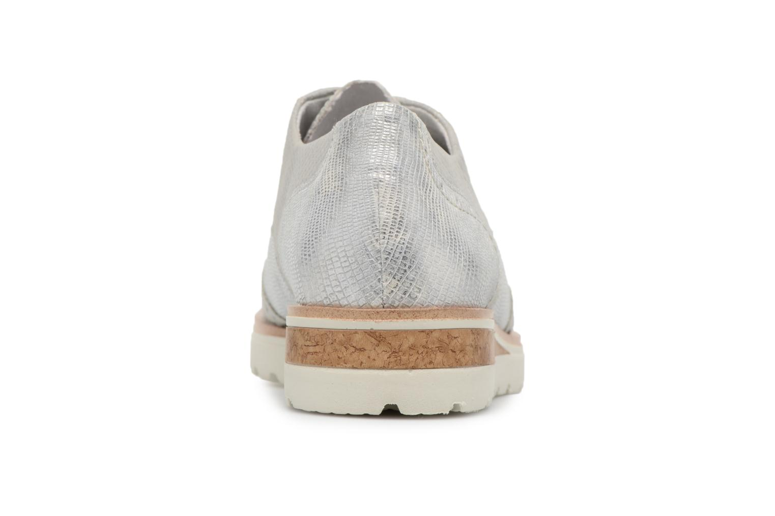 Lace-up shoes Remonte Nearra R1912 Grey view from the right