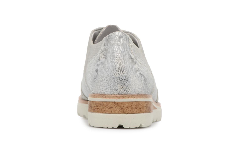 Chaussures à lacets Remonte Nearra R1912 Gris vue droite