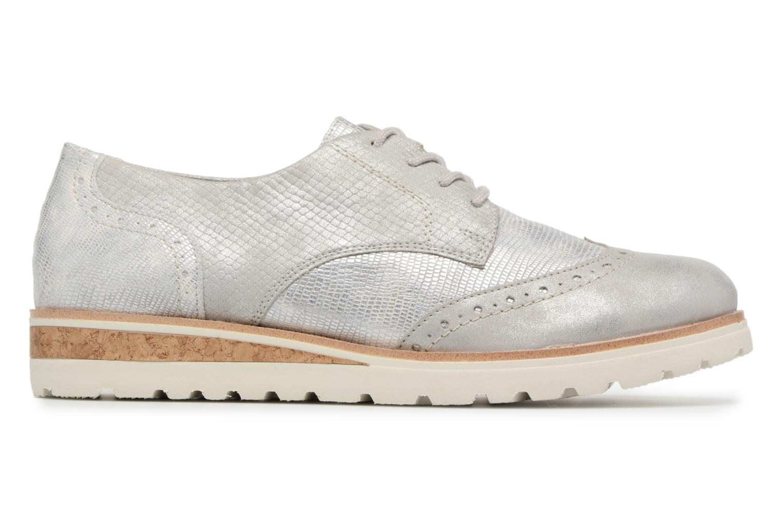 Lace-up shoes Remonte Nearra R1912 Grey back view