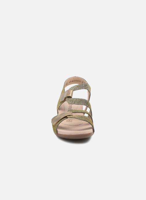 Sandales et nu-pieds Remonte Palmer R3259 Or et bronze vue portées chaussures