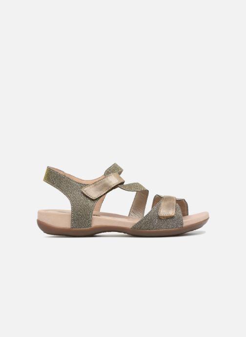 Sandales et nu-pieds Remonte Palmer R3259 Or et bronze vue derrière