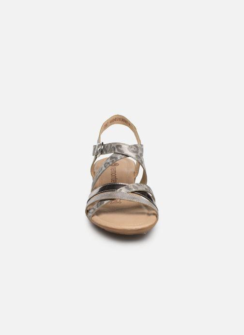 Sandales et nu-pieds Remonte Sander R3631 Argent vue portées chaussures