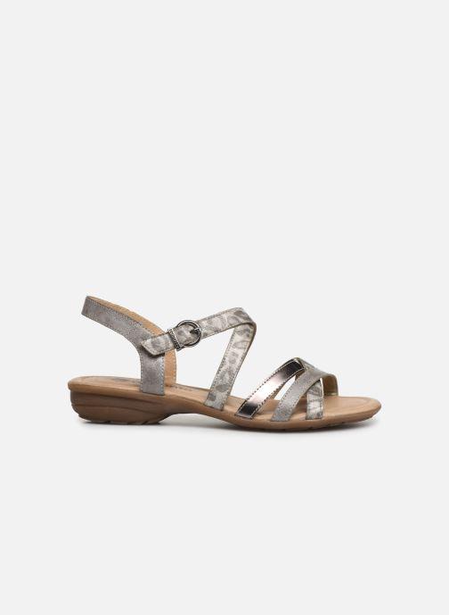 Sandales et nu-pieds Remonte Sander R3631 Argent vue derrière