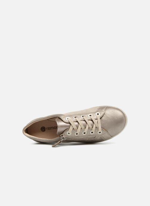 Sneaker Remonte Beryl R7206 beige ansicht von links