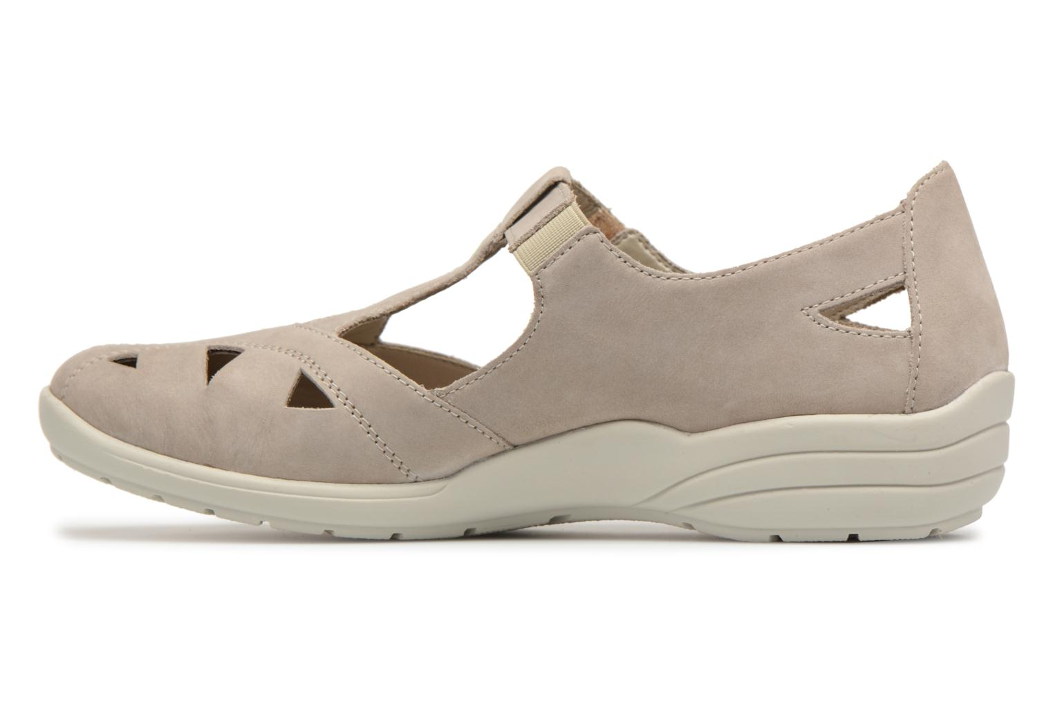 Ballet pumps Remonte Cameo R7616 Beige front view