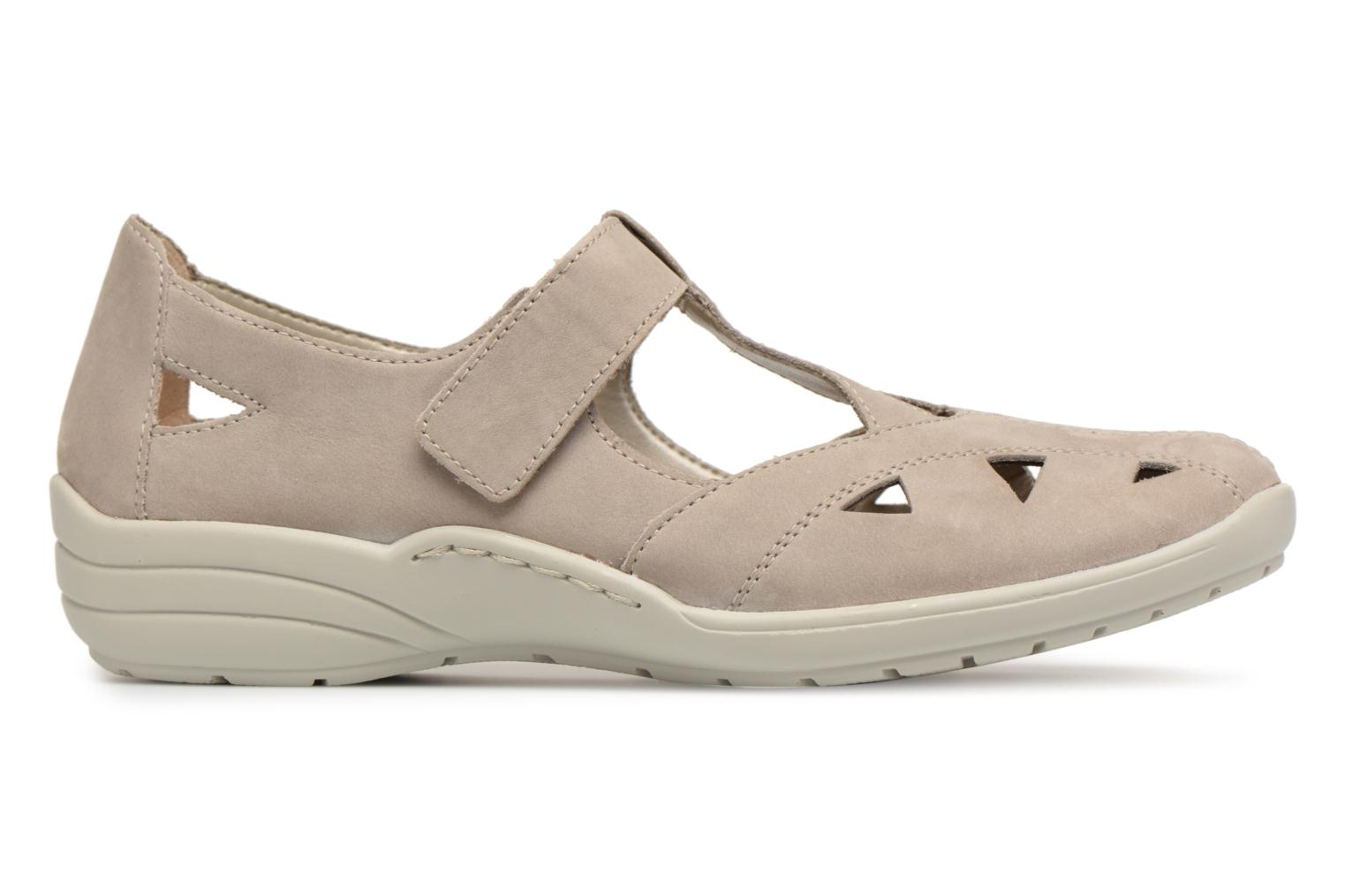 Ballet pumps Remonte Cameo R7616 Beige back view