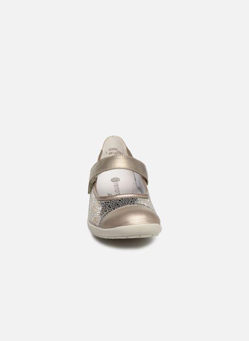 Ballerines Remonte Danya Gris vue portées chaussures