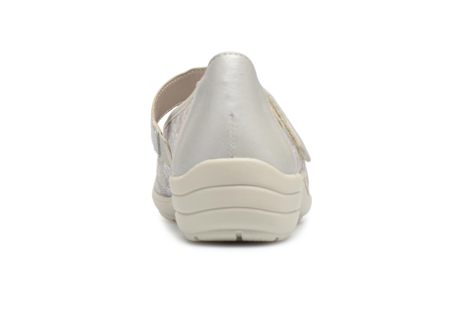 Ballet pumps Remonte Danya R7627 Grey view from the right