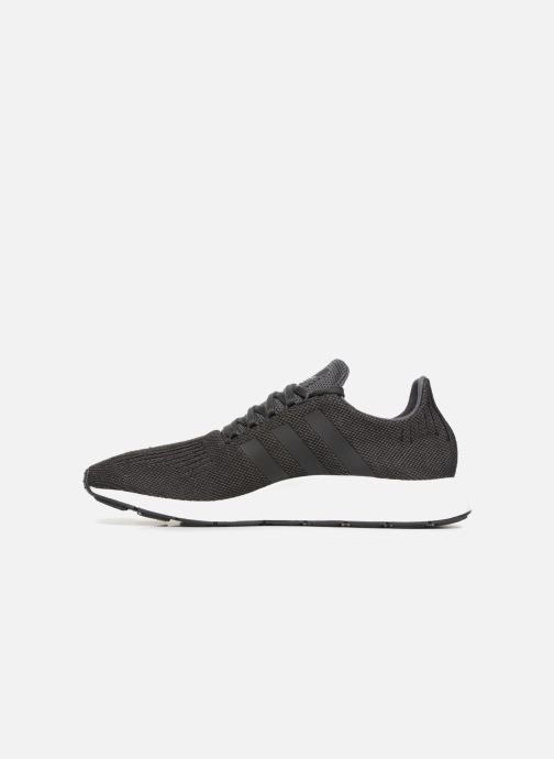 Baskets adidas originals Swift Run Noir vue face