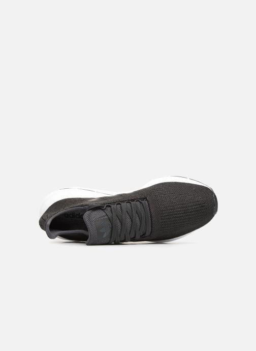 Baskets adidas originals Swift Run Noir vue gauche