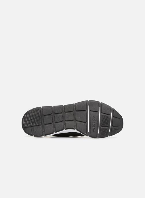 Baskets adidas originals Swift Run Noir vue haut