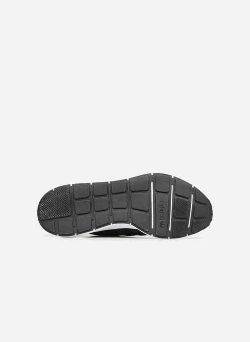 Baskets adidas originals Swift Run Noir vue haut