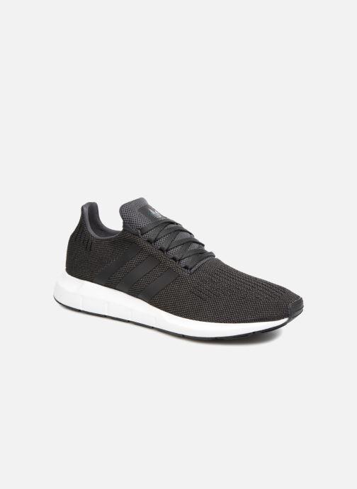 Sneakers adidas originals Swift Run Sort detaljeret billede af skoene