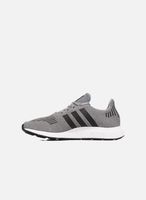 Sneaker adidas originals Swift Run grau ansicht von vorne
