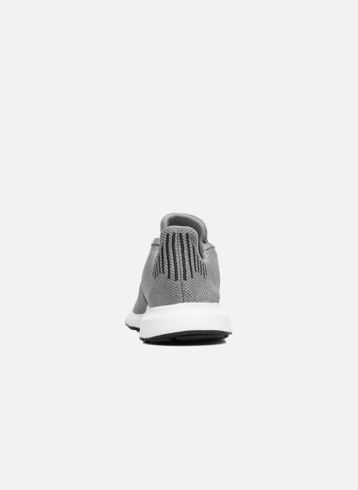 Sneaker adidas originals Swift Run grau ansicht von rechts