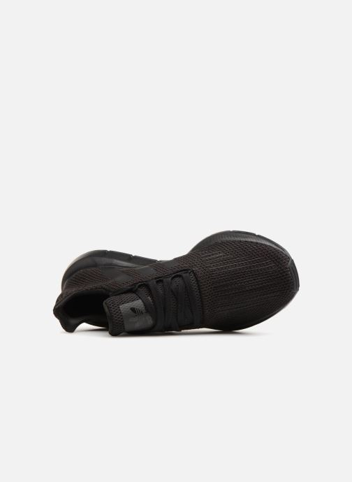 Sneaker Adidas Originals Swift Run schwarz ansicht von links