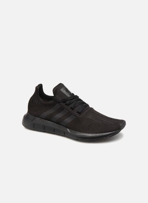 Sneakers adidas originals Swift Run Zwart detail