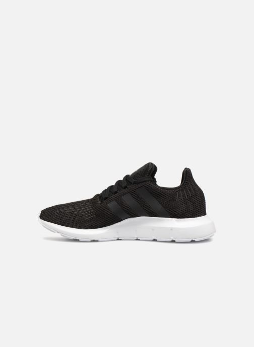 Deportivas Adidas Originals Swift Run Negro vista de frente