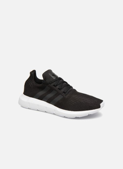 Deportivas Adidas Originals Swift Run Negro vista de detalle / par