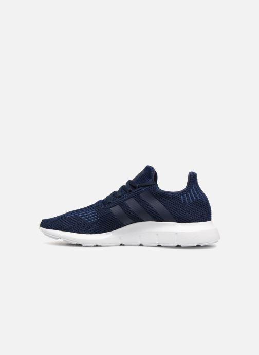 Sneaker adidas originals Swift Run blau ansicht von vorne