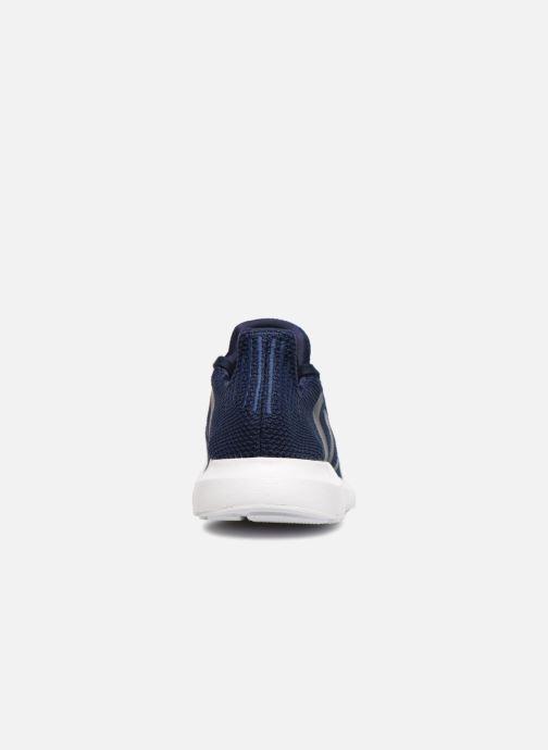 Baskets adidas originals Swift Run Bleu vue droite