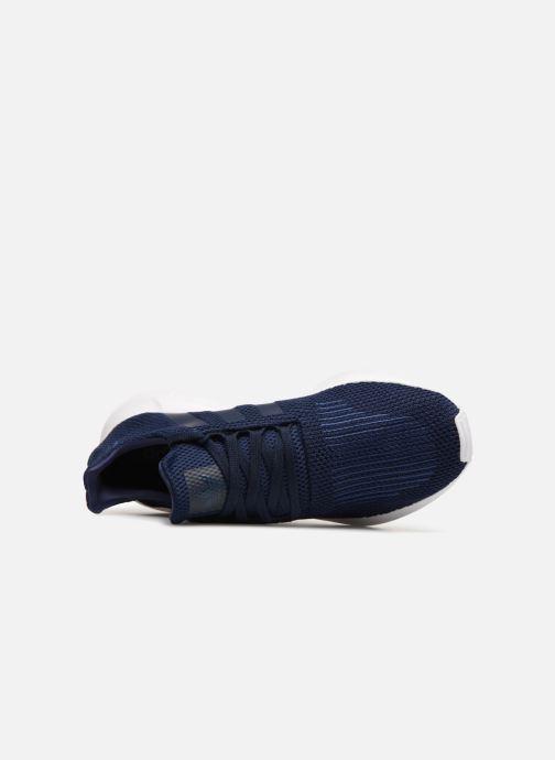 Sneaker adidas originals Swift Run blau ansicht von links