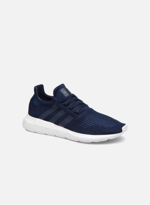 Baskets adidas originals Swift Run Bleu vue détail/paire